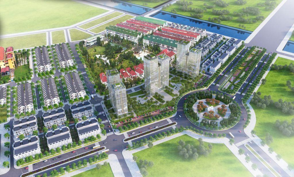 Mặt bằng đô thị Lê Hồng Phong Thị Xã An Nhơn nối dài