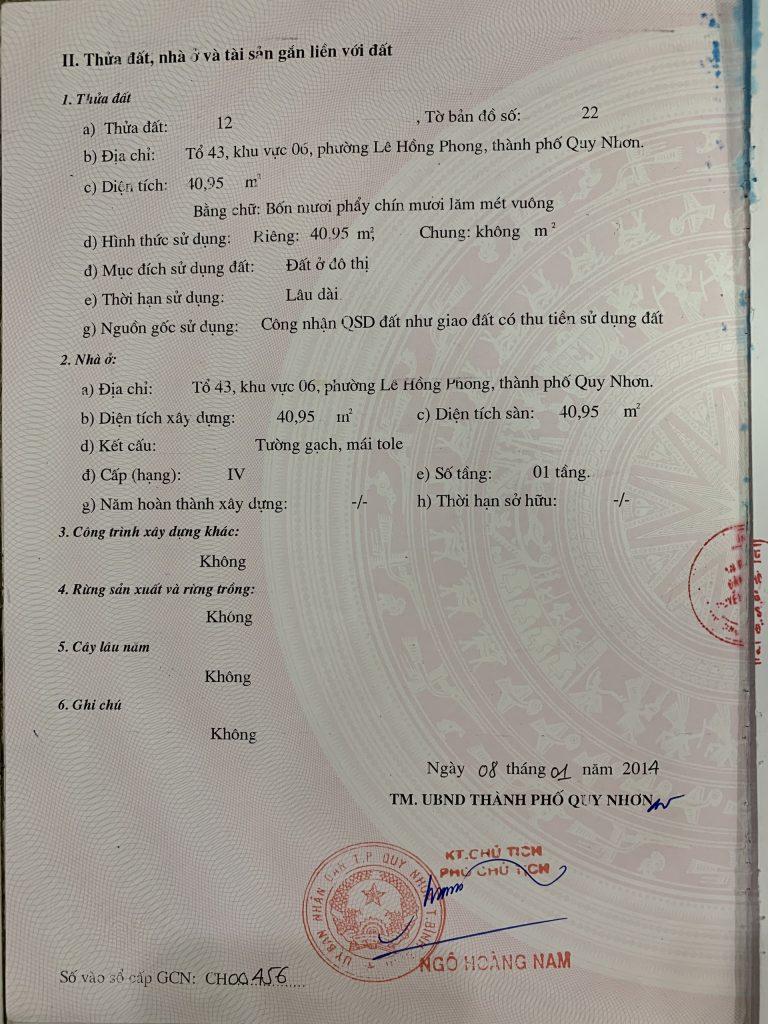 Nhà đất đường Nguyễn Thái Học
