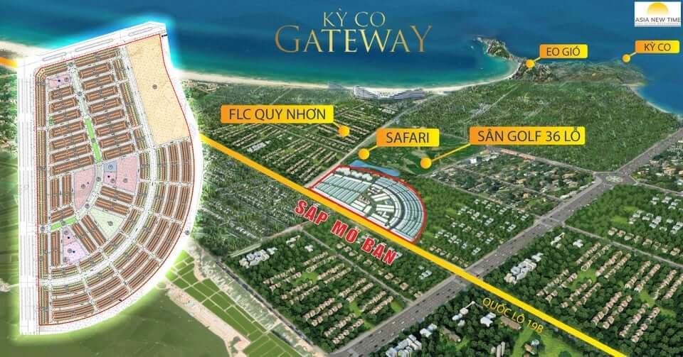 Vị trí dự án Kỳ Co Gateway