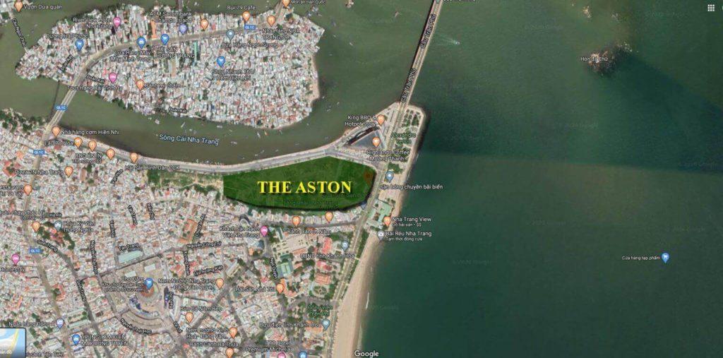 Vị Trí The Aston Nha Trang